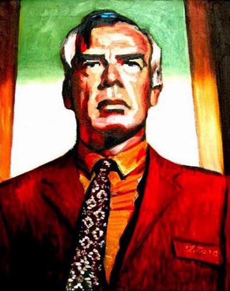 Portrait of Lee Marvin by Antony Zito