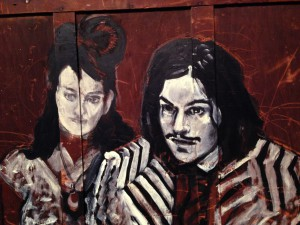 Meg and Jack White portrait by Zito